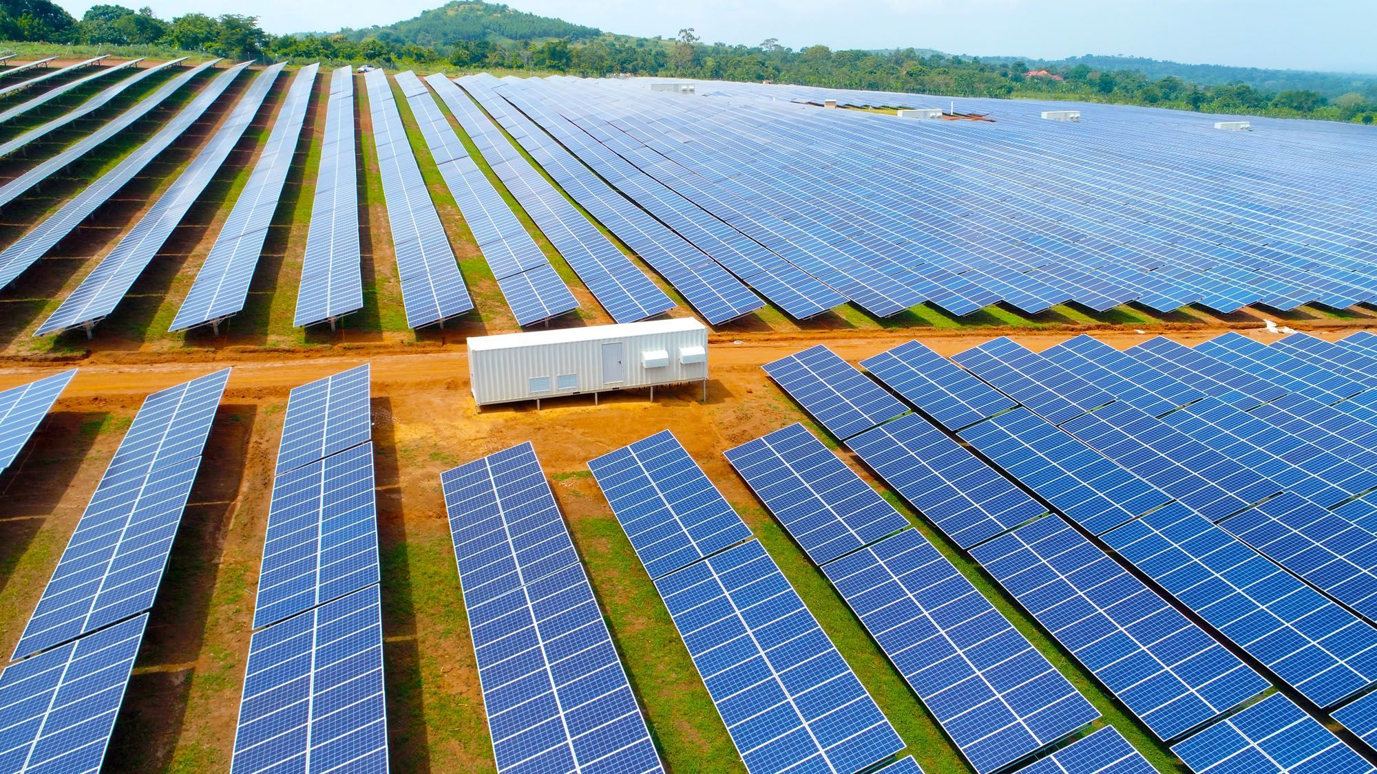 The Spanish group Ric Energy has commissioned the largest photovoltaic solar plant in East and Central Africa