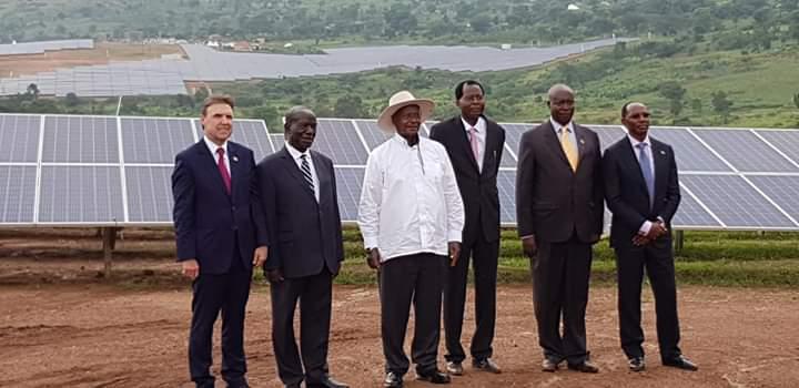 El grupo espanol Ric Energy ha puesto en marcha la planta solar fotovoltaica mas grande de Africa Oriental y Central